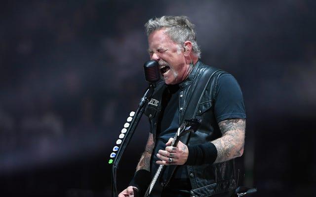 Twitch kiểm duyệt buổi hòa nhạc Metallica trực tiếp với âm nhạc tuyệt vời nhất có thể tưởng tượng