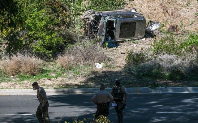 Los alguaciles del condado de Los Ángeles pueden tener una buena razón para no revelar lo que causó el accidente de Tiger Woods