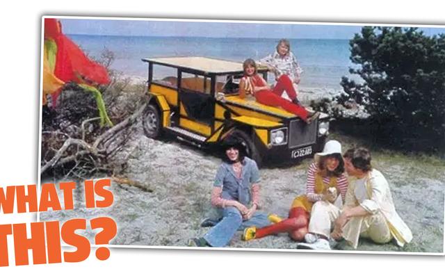 先に進んで、このボンカーズビーチバギーがどの車に基づいているかを推測してみてください
