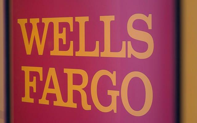 アメリカ最悪の銀行であるウェルズ・ファーゴが、破産した技術を修正する時が来たと判断
