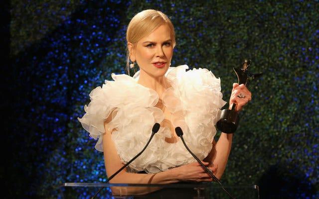 La vera star delle piccole bugie sono gli snack della vecchia signora di Nicole Kidman