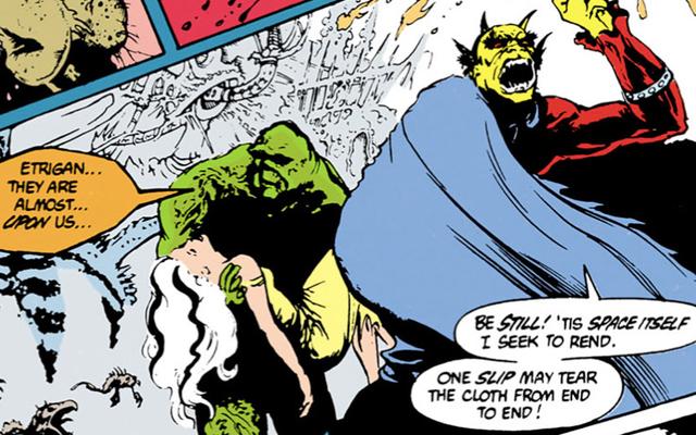 スワンプシングと悪魔はジャスティスリーグダークムービーのバットマンとスーパーマンだっただろう