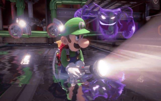 Luigi's Mansion 3レビュー:最高のGhostbustersゲームはニンテンドーからのものです