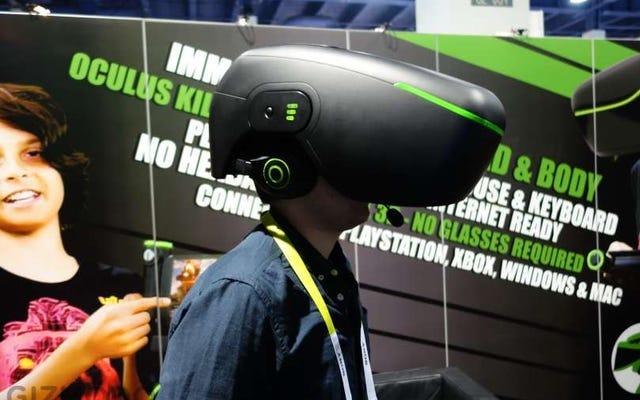 この「OculusKiller」は巨大なトロンナイトメアシューボックスのように見えます