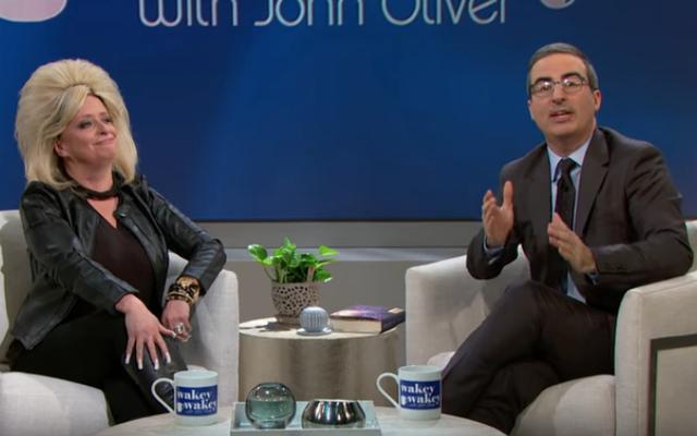 ジョン・オリバーは、先週の今夜がテレビの超能力者を暴くので、「略奪的なでたらめ」の「p」を感知しています