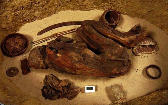 古代エジプト人はファラオの時代よりずっと前にミイラ化を習得しました