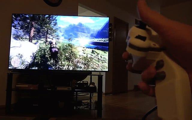人気のModderがカスタムの片手PS4コントローラーを作成