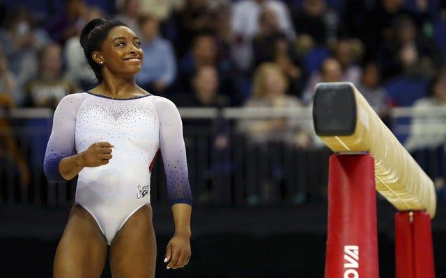 Simone Biles nos recuerda cuán profunda es realmente la bolsa de trucos de cada gimnasta