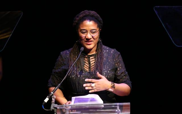 `` Le racisme est une cible souple '': la dramaturge lauréate du prix Pulitzer Lynn Nottage à propos du moment prescient qui est devenu la sueur