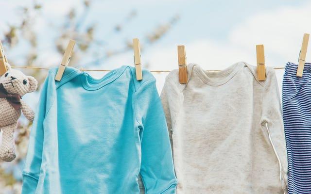 あなたはおそらくあなたの服をすべて間違って空気乾燥している