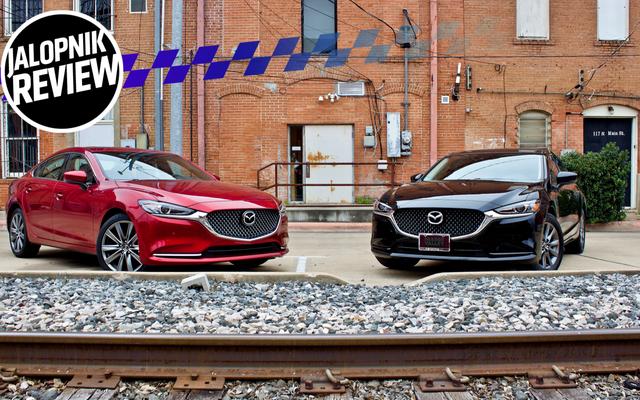 Le manuel de base 2018 Mazda 6 est génial, même à côté de ses supérieurs turbocompressés