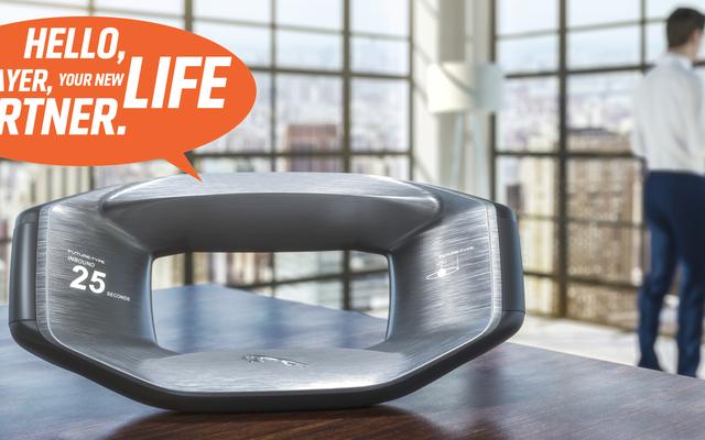 जगुआर की नई कॉन्सेप्ट कार आपके स्टीयरिंग व्हील पर बात करना चाहती है और इसे हर जगह आपके साथ ले जाती है