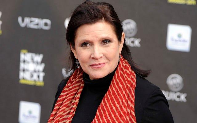 Carrie Fisher lebih dari sekadar Putri Leia dari Star Wars: ini adalah pekerjaan terpentingnya