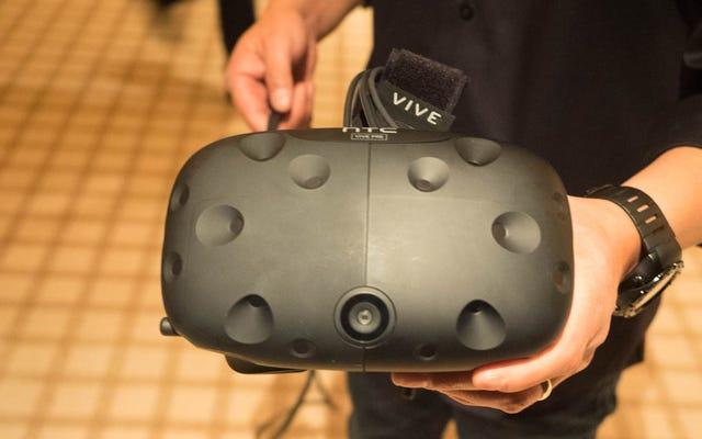 Probé los auriculares Vive VR más nuevos de HTC. Así es como se ve