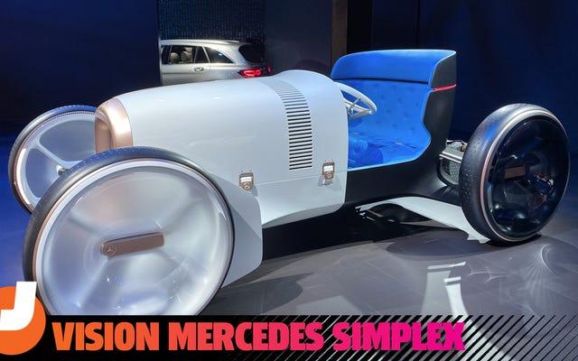 Mẫu xe ý tưởng của Mercedes là một chiếc xe hơi tương lai dựa trên một chiếc xe đã hơn một thế kỷ