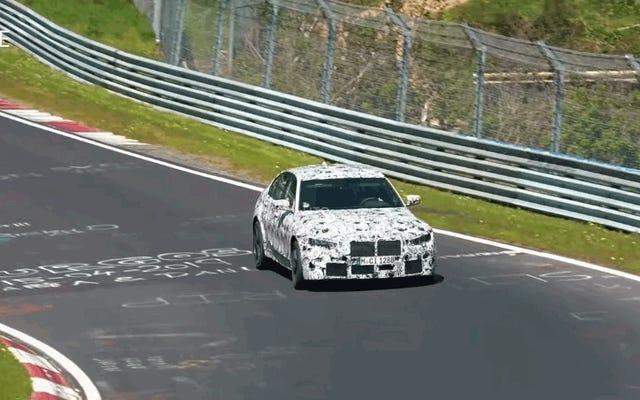 Inilah Bom BMW M3 2020 di Sekitar Nürburgring
