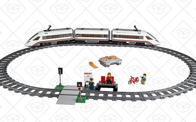 लेगो का इलेक्ट्रिक ट्रेन सेट वास्तव में काम करता है, और आप आज 20% बचा सकते हैं