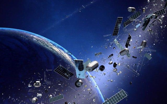 Les déchets spatiaux sont un problème croissant et nous devons le prendre au sérieux