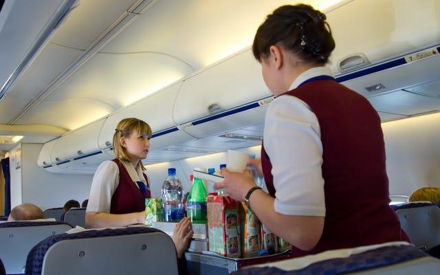 Dernier appel: Quelle est votre commande de boissons en avion?