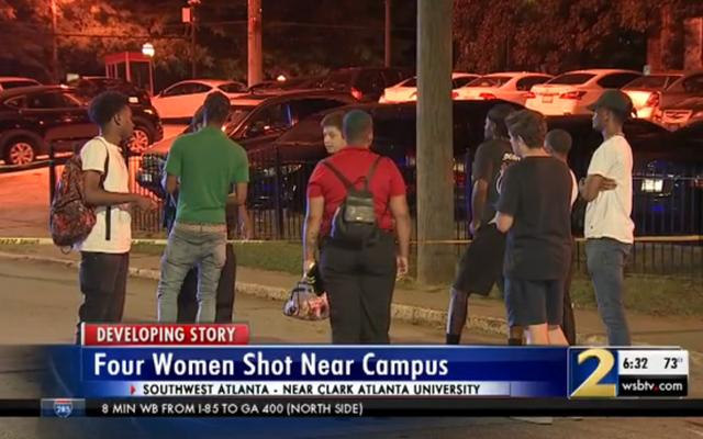นักเรียน 4 คนถูกยิงในงานปาร์ตี้ที่ห้องสมุด Atlanta University Center