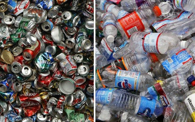 ソーダ缶やペットボトルは環境に悪いですか?