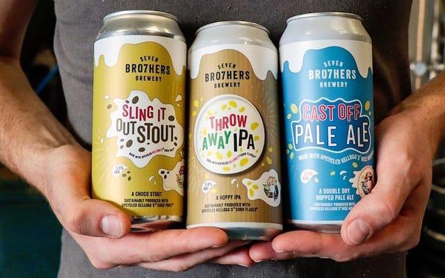 これらの英国の醸造業者は、残りの穀物を使用して有機ビールを作成しています
