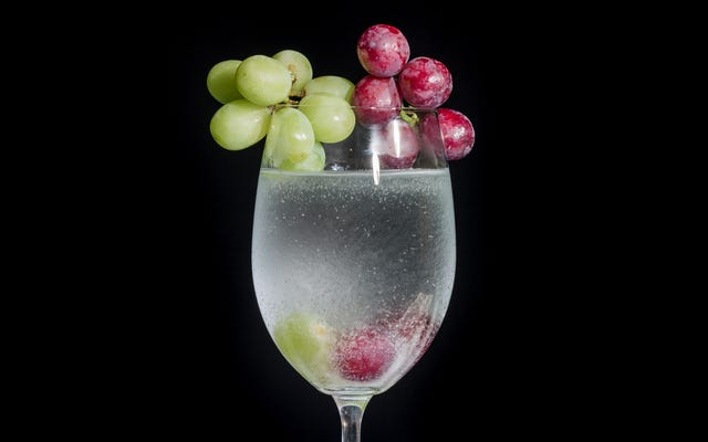 Woda do wina niestety nie upije