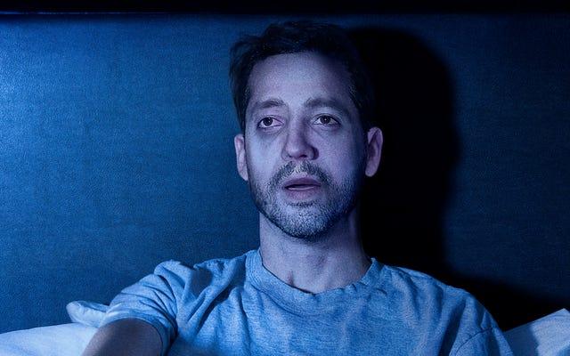 デビッド・ブレインは、彼が自然の原因で死ぬ悪夢から冷や汗で目を覚ます