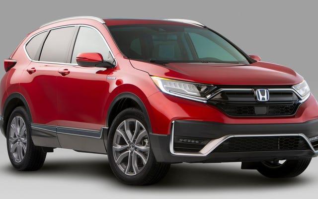 La Honda CR-V Hybrid 2020 è la forma delle cose a venire