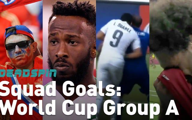 (Presque) tout ce que vous devez savoir sur le groupe A de la Coupe du monde, en (presque) une minute