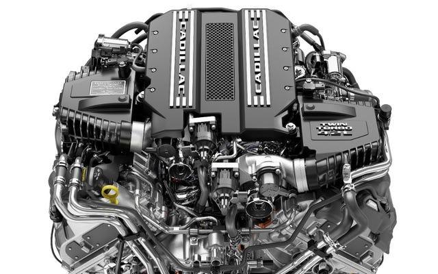 このツインターボV8は、数十年ぶりのキャデラック専用V8です。