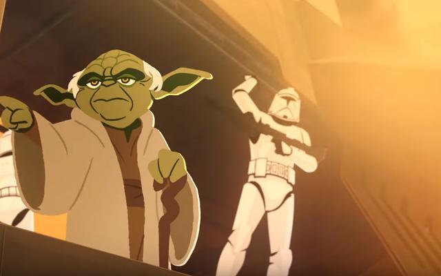 Yoda est un farceur tragique dans ce court métrage Star Wars Galaxy of Adventures