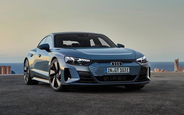 Audi E-Tron GT là một chiếc Taycan rẻ hơn một chút, thoải mái hơn