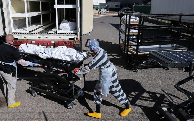 米国はクリスマスまでに1日あたり2,000人のCovid-19人の死亡を見ることができた:報告