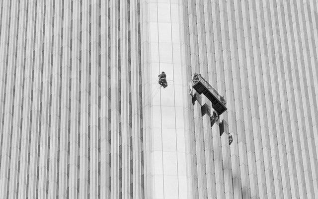 超高層ビルのファサードにあるその黒い点は男です:ジョージ・ウィリングの信じられないほどの上昇