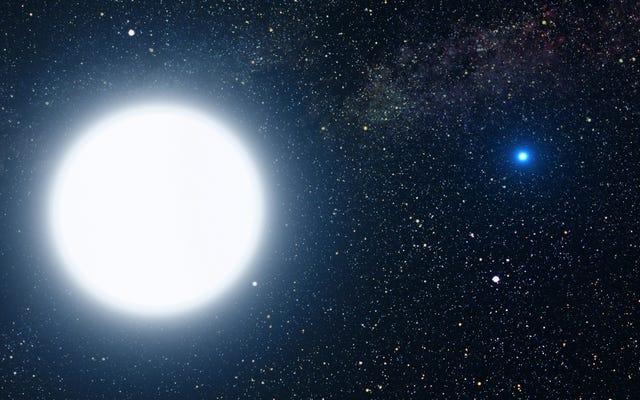 科学者は重力を使って星の重さを量り、アインシュタインが正しいことを証明することで間違っていることを証明します