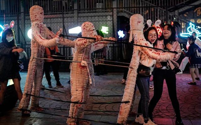 これが中国の武漢がハロウィーンを祝っている方法です