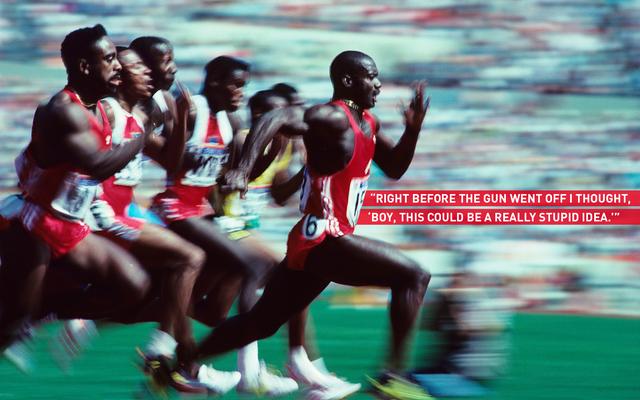 オリンピックの最も汚い記録の象徴的な写真の裏話