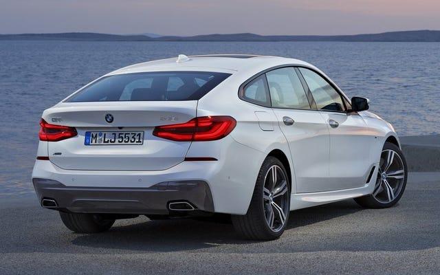 読者へのメモ:BMW6シリーズグランツーリスモも存在することを完全に忘れました
