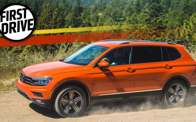 La Volkswagen Tiguan del 2018 è sterile ma ha una terza fila perché tu non lo sei