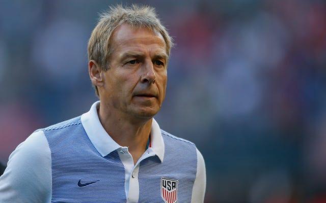 Le football américain congédie l'entraîneur-chef de l'USMNT Jurgen Klinsmann