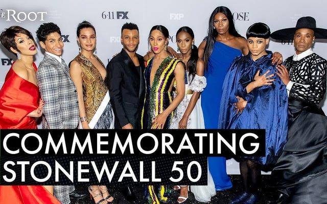 Pose Stars Riflette sul 50 ° anniversario della ribellione di Stonewall