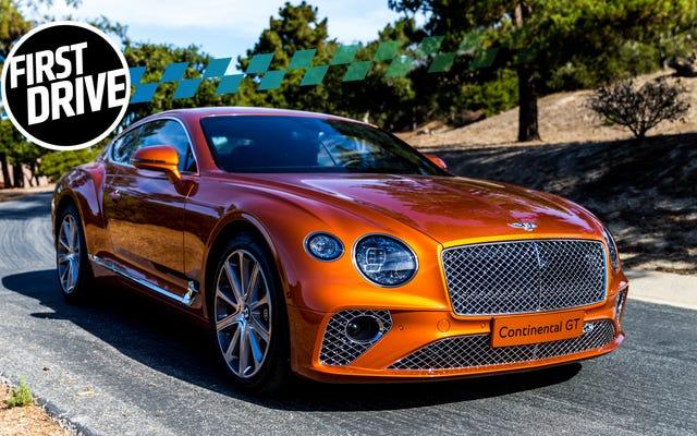 La Bentley Continental GT 2019 vaut mieux que posséder une belle maison et tout aussi chère