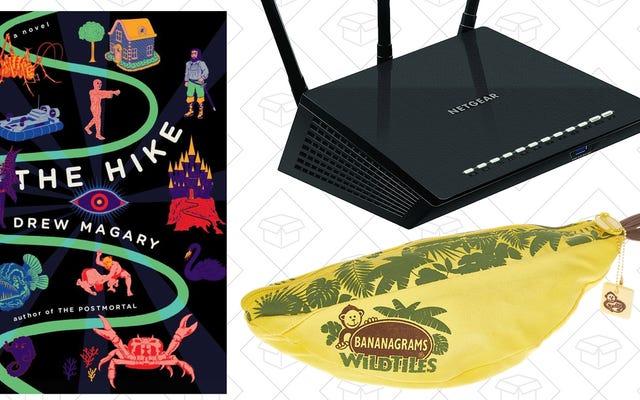 As melhores ofertas de hoje: Router Blowout, The Hike, J.Crew Factory e muito mais