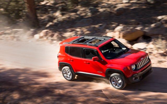 Le Jeep Renegade 2015 est tout aussi bon que vous l'espériez