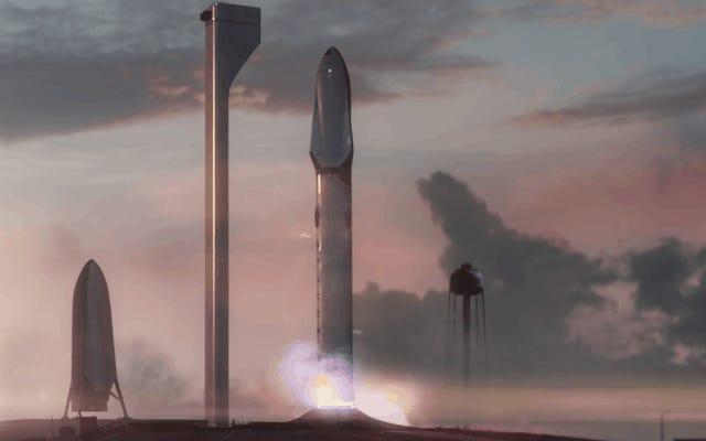 Questo è il sistema di trasporto interplanetario, il razzo SpaceX che porterà l'umanità su Marte