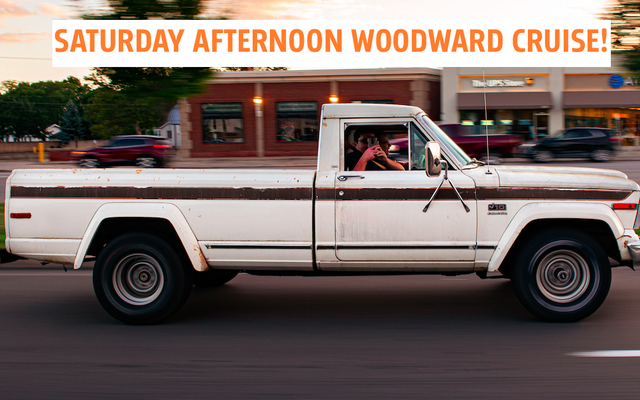 Czytelnicy Detroit-Area Jalopnik: Rejs po Woodward w sobotę
