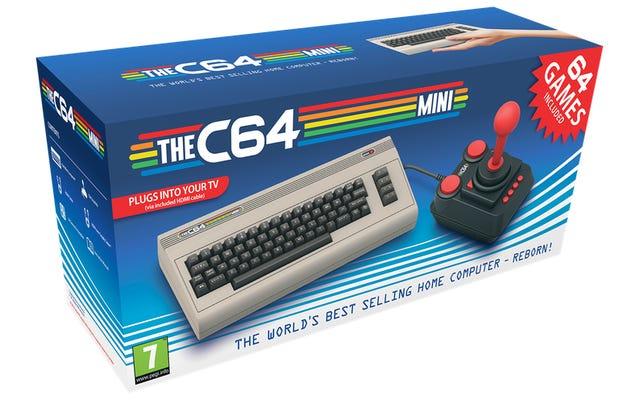 Я возьму этот миниатюрный Commodore 64 вместо крошечной SNES в любой день
