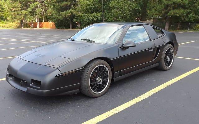Por $ 8.500, ¿podría este Pontiac Fiero 1988 sobrealimentado probar un buen negocio para siempre?