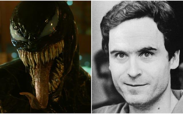 Alors, les gens qui veulent baiser Venom se battent avec ceux qui veulent baiser Ted Bundy